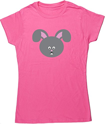 Haare Youth T-shirt (Hippowarehouse Damen T-Shirt Gr. XXL, Rosa - Pink)