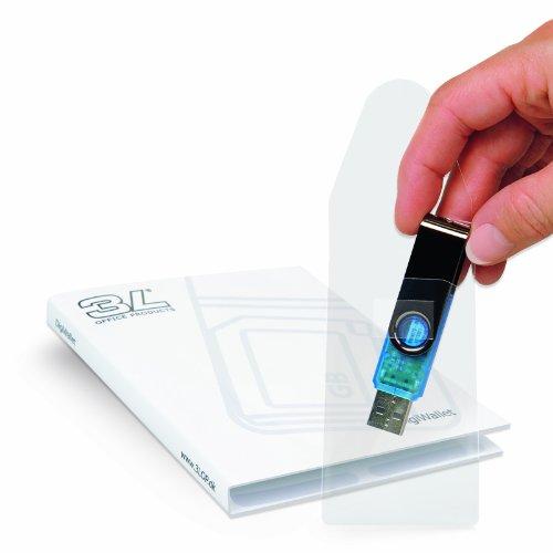 3L selbstklebende USBKartentasche transparent USBTasche - Multimedia-tasche