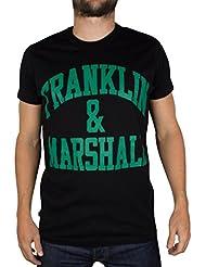 Franklin & Marshall Herren Regular Fit T-Shirt TSMVA079CON