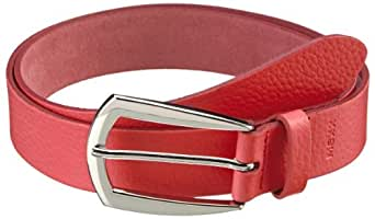 MEXX Damen Gürtel 3FLWT007 13law400 Basic Belt, Gr. M (85), Rot (Deep Sea Coral)
