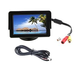 akhan M02 TFT Farb Monitor 4,3 Zoll für VCD DVD GPS Rückfahrkamera