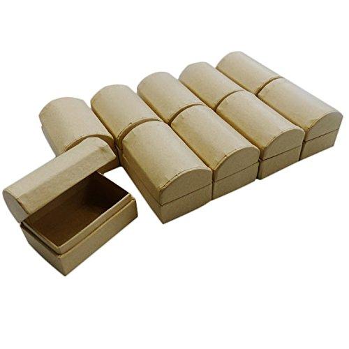 Karton zum Basteln und Selbstgestalten, 6x4x4cm (10) (Karton Basteln)