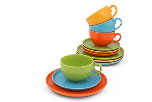 Friesland 'Happymix bunt' Kaffee-Set 12-tlg.