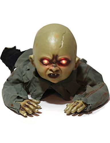 Macht Kostüm Ghost Ein - TUTOU Horror Halloween, Cosplay Kostüm Maske Prom Party Macht Männer und Frauen Angst Ornamente Creepy Zombie Devil Ghosts BB