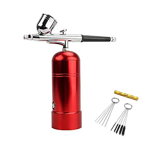 Mini compressore aerografo professionale usb charging kit set airbrush aerografo pistola a spruzzo per modellismo pittura,unghie verniciatura,nail pasticceria,torta spray,make up