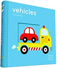 TouchThinkLearn: Vehicles: (Board Books for Baby Learners, Touch Feel Books for Children)