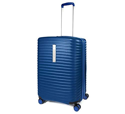 MODO by Roncato Trolley Medio Vega Blu, Misura: 68x48x25/30 Cm, Peso: 3.4 Kg, Capacità: 72/86 L