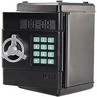 Strong Box - Hucha digital con combinación de 6dígitos (incluye función reloj)