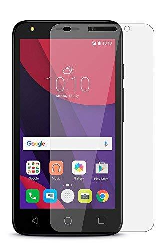 Alcatel One Touch Pixi 4(12,7cm) (3G)–Displayschutzfolie aus gehärtetem Glas Anti Scratch HD transparent bruchsicher 9H Härte Guard Film 0,3mm