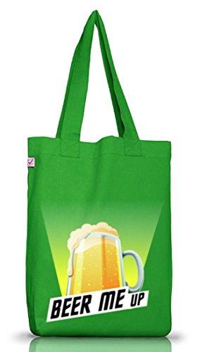 Jutebeutel Earth Positive Für Bierfreunde. Bevimi Birra Verde Kelly