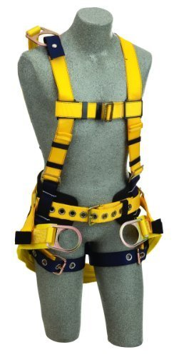 dbi-saladelta-1106103-full-body-harness-18-back-d-ring-ext-belt-w-pad-back-d-ring-seat-sling-w-posit