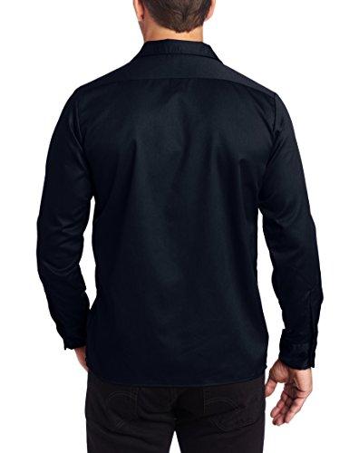 Dickies Herren Sweatshirt Streetwear Long Sleeve Slim Shirt Blau (Dark Navy Dn)