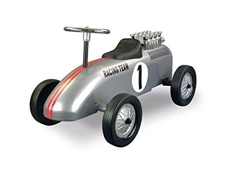 Retro Roller 0706119 - Laufauto Racing Team, silber