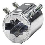 Siemens - Pieza intermedia para perfil eje 12x12mm