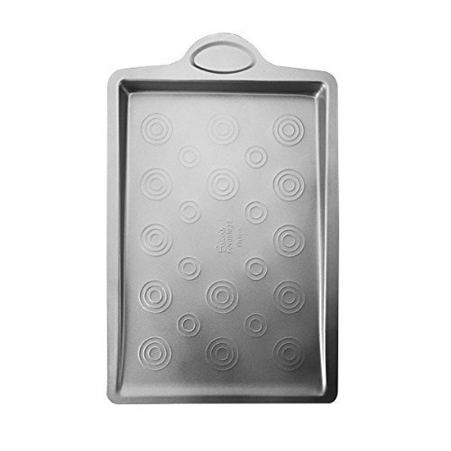Baker's Advantage Carbon Steel Cookie Pan with Targets, 17-Inch, 0.6-MM by Baker's Advantage -