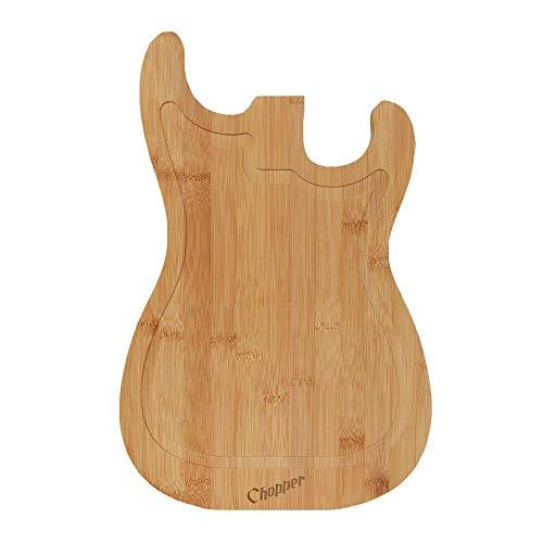 Mikamax - Tabla cortar guitarras - Color madera -