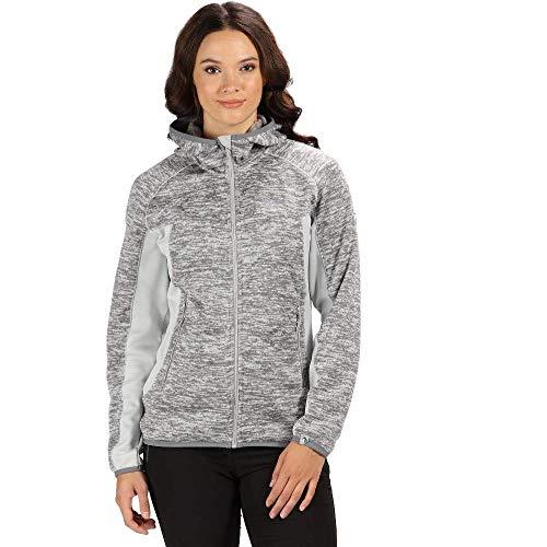 Regatta Willowbrook Damen Fleece-Jacke mit durchgehendem Reißverschluss XX-Small Light Steel/Light Steel