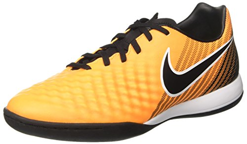 Nike Herren Magistax Onda Ii IC Fußballschuhe, Orange (Laser Orange/Black-White-Vert Volt-White), 42.5 EU