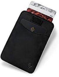 AKIELO Wallet | Slim and Minimalist Mens Card Wallet | RFID Blocking Card Holder