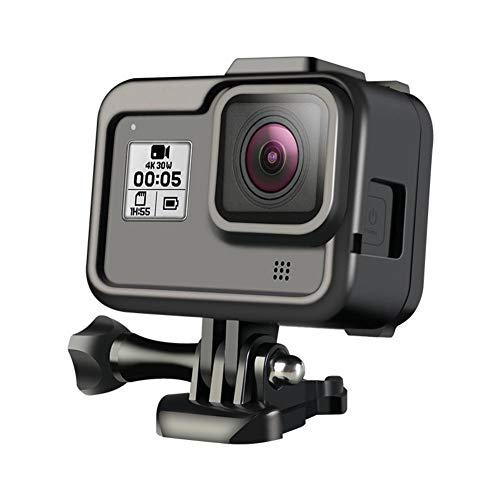 Presupuesto:Nombre: Marco de protección de cámara deportivaAdecuado para: para GoPro hero8 negroMaterial: material respetuoso con el medio ambiente PC + ABSTamaño: aproximadamente 73 * 26 * 69 mm / 2.87 * 1.02 * 2.72inPeso: alrededor de 36,5 gDe c...