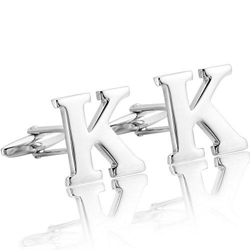 mowom-2-pieza-rodio-plateado-gemelos-letra-iniciales-alfabeto-abecedario-k-camisa-alianzas-boda