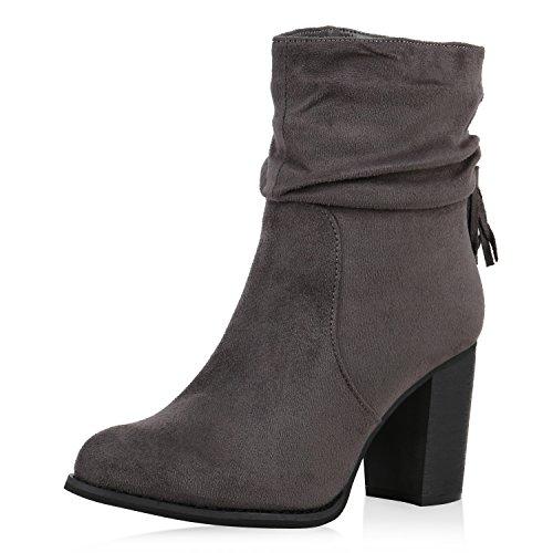 Japado , bottines classiques femme Gris