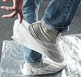 Profistar Überziehschuhe, Schuhüberzieher, weiß, 6 Paar, Universalgröße, mit Gummizug
