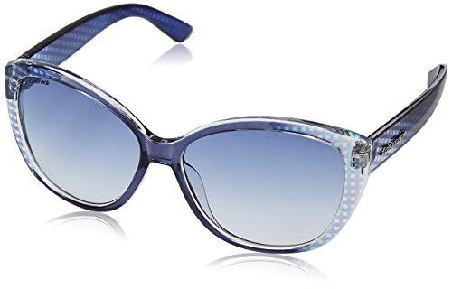 Fastrack Blue Cateye Sunglasses (P254BU1F) image