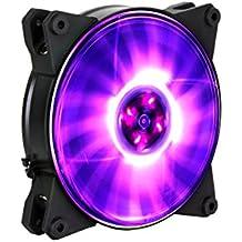 Cooler Master MasterFan Pro 120 Air Flow RGB Carcasa del ordenador Ventilador - Ventilador de PC (Carcasa del ordenador, Ventilador, 12 cm, 650 RPM, 1100 RPM, 6 dB)