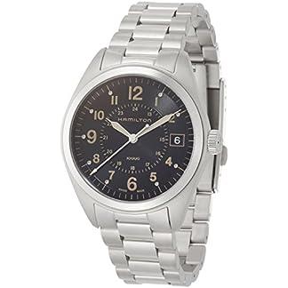 Hamilton Reloj Analogico para Hombre de Cuarzo con Correa en Acero Inoxidable H68551133