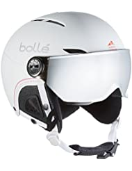 Bollé Casco de esquí Juliet Visor Soft White/Nordic/Silver Gun/Lemon, 54–58cm, 31160