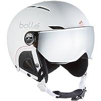 Bollé 31159 Cascos de Esquí, Mujer, Blanco (Soft White Nordic), ...