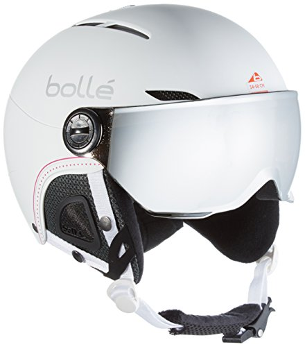 Bollé 31159 Cascos de Esquí, Mujer, Blanco (Soft White Nordic),...