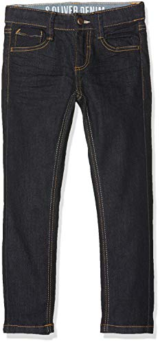 s.Oliver Jungen Jeans 64.809.71.3314, Blau (Blue Denim Stretch 59z8), 122 (Herstellergröße: 122/SLIM)