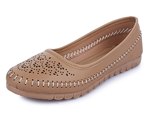 TRASE Sapphire Beige Bellies for Women-7 IND/UK