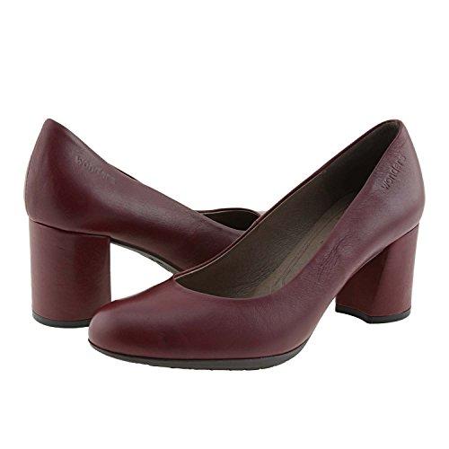 Rouge I 6831 Pth0p Peau Chaussures Wonders Merveilles XZiuPk