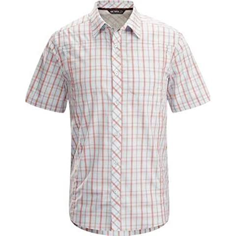 Arcteryx Men Ridgeline SS Camiseta Camisa Función Camisa Manga Corta Camisa para hombre Mars Sky, XXL