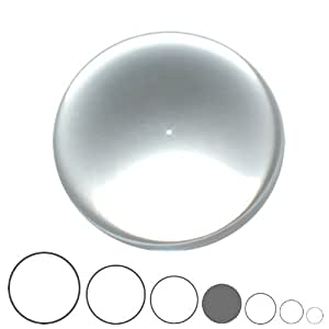 Balle de Contact Acrylique Transparente - 75mm