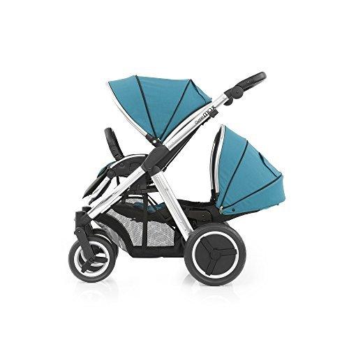 BabyStyle Oyster Max 2Tandem Kinderwagen Spiegel (Tief Topaz)