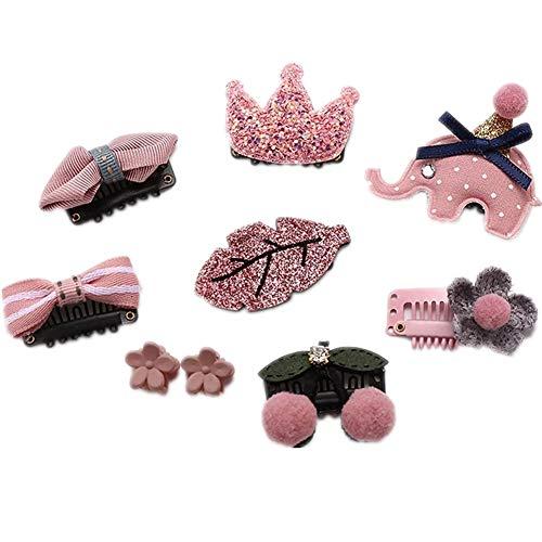 Baby Kleine Mädchen Haarspangen Multi-Style Headwear Haarspangen Haarnadeln Set für Mädchen Kleinkinder Kinder Haarschmuck (Little Mix-outfits)