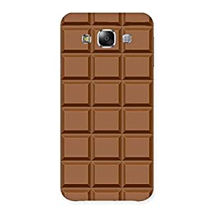 Special Classic Chocolate Back Case Cover for Samsung Galaxy E5