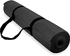 ProFlex Athletics Non Slip Yoga Mat 6 mm for Men & Women with Carry Strap