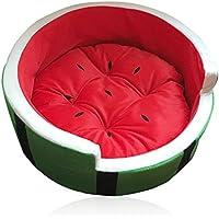 Divine Shield Animali domestici Four Seasons Pussy Cani per frutta Serie Cat's Nest Watermelon Bed Bright Red Watermelon Nest