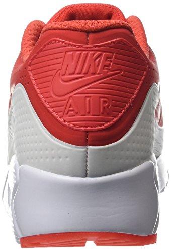 Nike Uomo Air Max 90 Ultra Moire scarpe sportive Rosso (Light Crimson/Light Crimson/White)