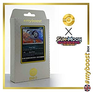 Absol 81/145 Holo - #myboost X Sun & Moon 2 Gardians Rising - Box de 10 Cartas Pokémon Inglesas