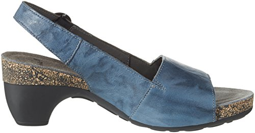 Think! Damen Traudi Pumps Blau (saphir/kombi 90)