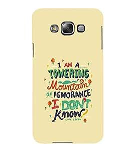 PrintVisa Designer Back Case Cover for Samsung Galaxy E5 (2015) :: Samsung Galaxy E5 Duos :: Samsung Galaxy E5 E500F E500H E500Hq E500M E500F/Ds E500H/Ds E500M/Ds (Quote Love Heart Messages Crazy Express Sorry )