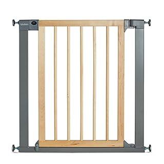 Lindam - Barrera de seguridad con puerta, color beige (B0057EDA8S)   Amazon Products