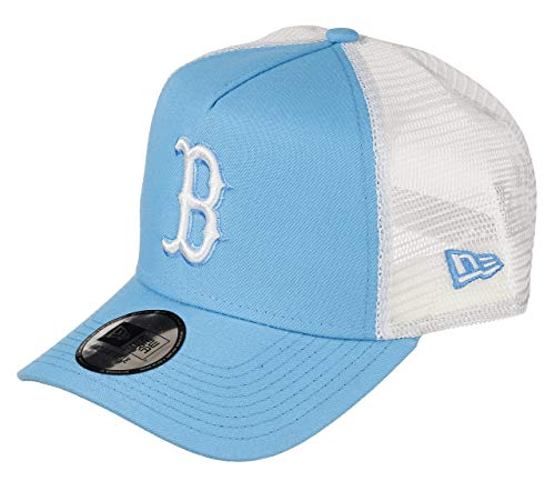 New Era Boston Red Sox MLB Cap Trucker New Era Baseball Damen Verstellbar Neon Blau - One-Size