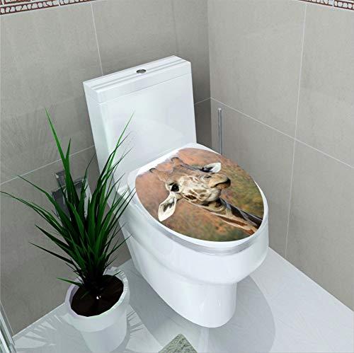 HAIMACX Badezimmerdekoration 3D Kreative Hirsch Wc Wandaufkleber PVC Wasserdicht Mobile Grenzüberschreitenden E-Commerce Taoyuan Quelle